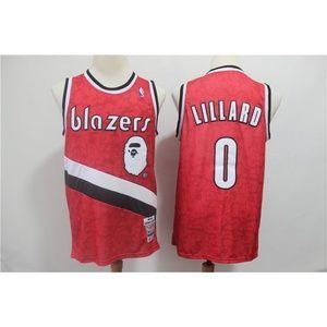 Portland Trail Blazers Damian Lillard Jersey (6)